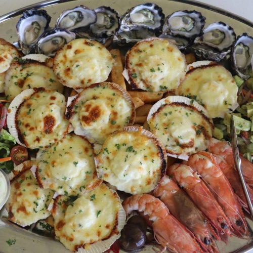 Little-Ship-Club-wedding-seafood-mornay